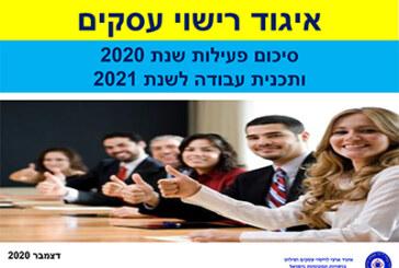 סיכום פעילות שנת 2020 ותכנית עבודה לשנת 2021